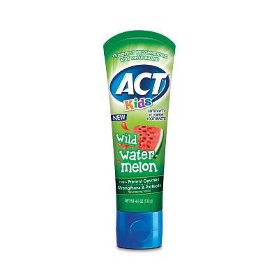 Act Kids Wild Watermelon Toothpaste - 4.6oz