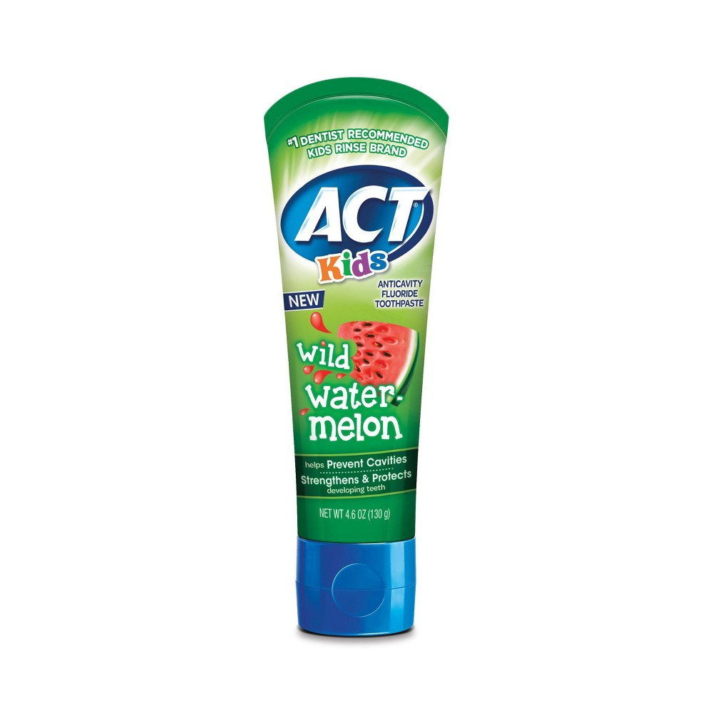 Image of Act Kids Wild Watermelon Toothpaste - 4.6oz