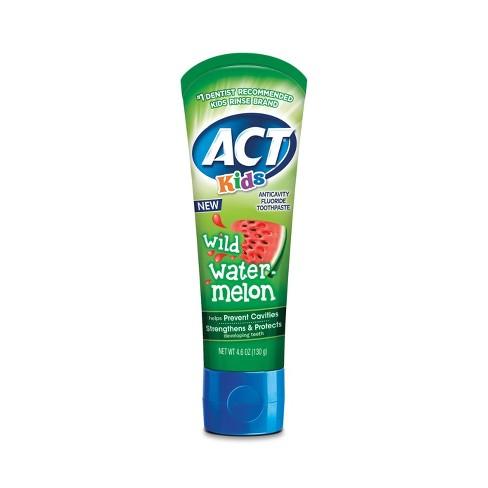 Act Kids Wild Watermelon Toothpaste - 4.6oz - image 1 of 4