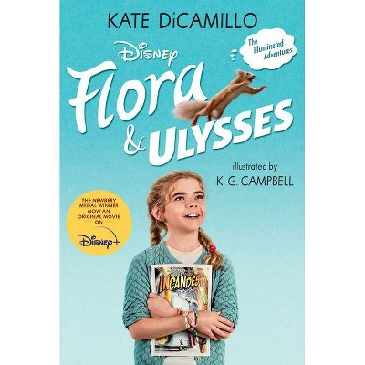 Flora & Ulysses: Tie-In Edition - by Kate DiCamillo (Paperback)
