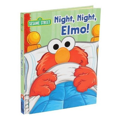 Sesame Street: Night, Night, Elmo! - (Guess Who)by Gina Gold (Hardcover)