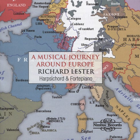 Richard lester - Musical journey around europe (CD) - image 1 of 1