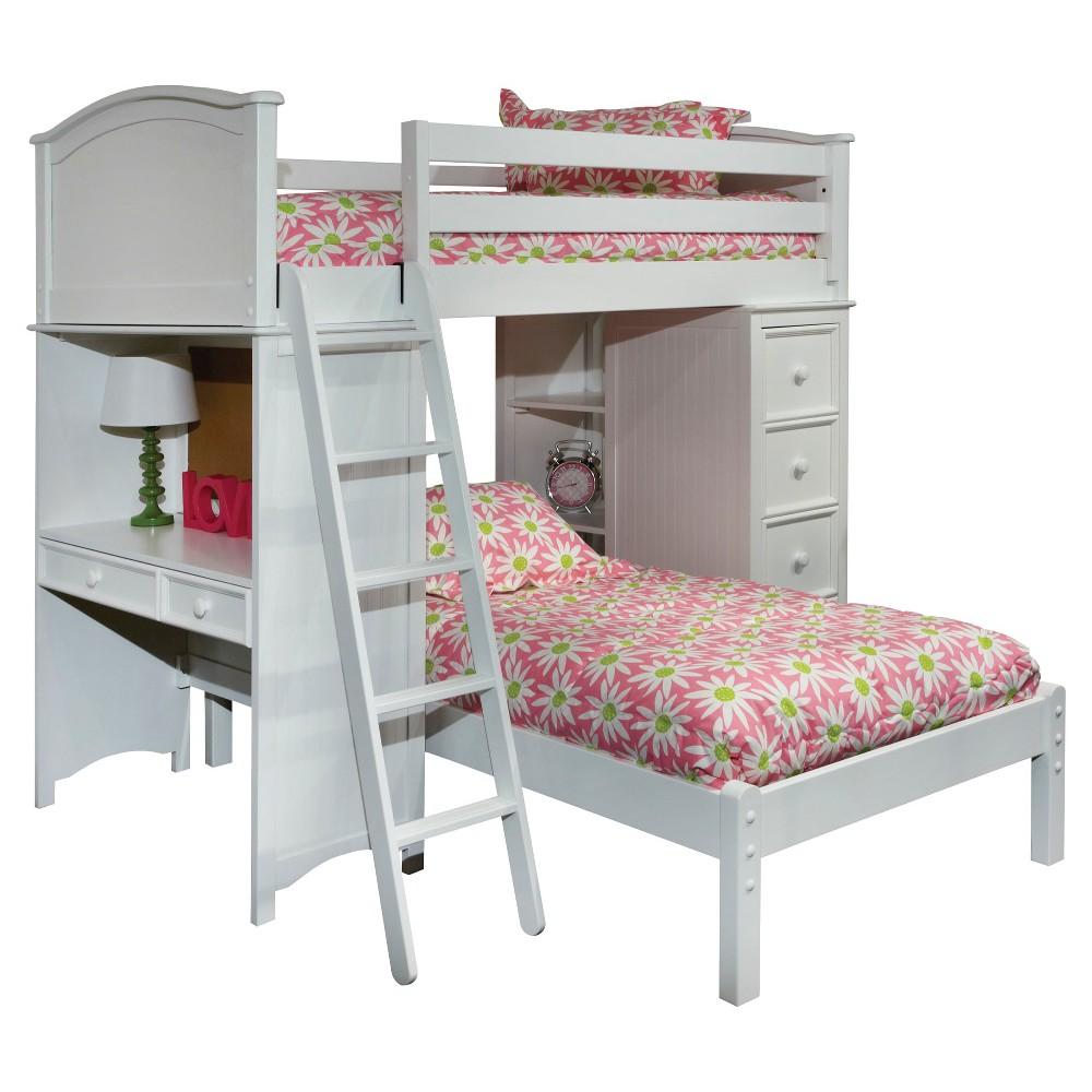 Kids Bed White - Bolton Furniture