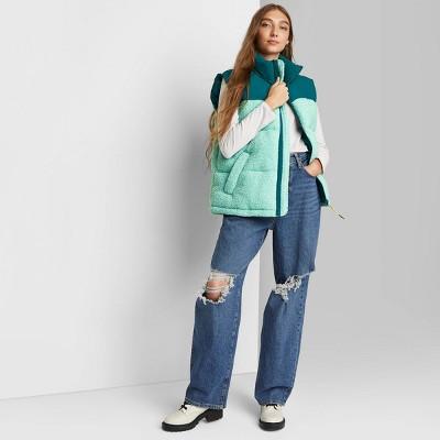 Women's Oversized Puffer Vest - Wild Fable™