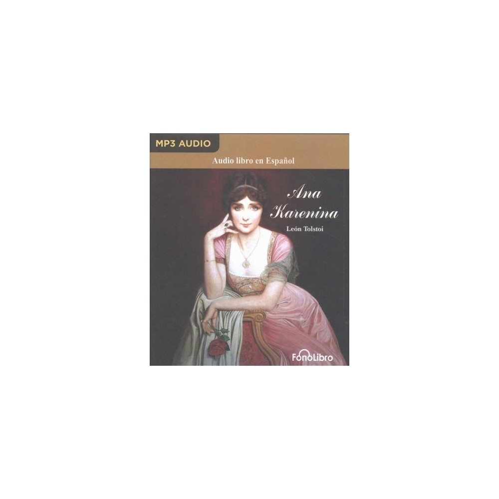 Ana Karenina/ Anna Karenina (MP3-CD) (Leo Tolstoy)