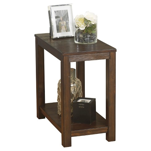 Grinlyn Chair Side End Table Rustic Brown - Signature Design by Ashley - image 1 of 3
