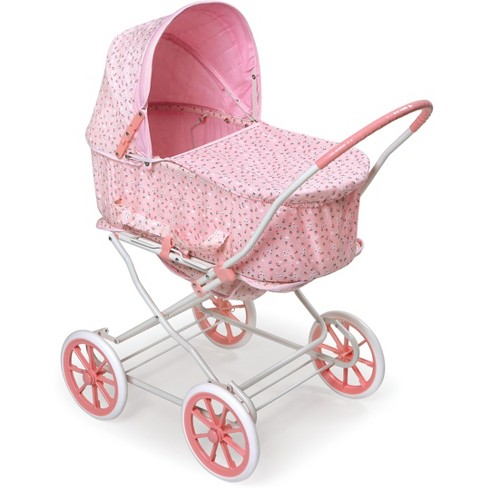 Badger Basket Rosebud 3 In 1 Doll Carrier Stroller