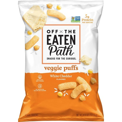 Off the Eaten Path Veggie Puffs White Cheddar - 4.5oz - image 1 of 3