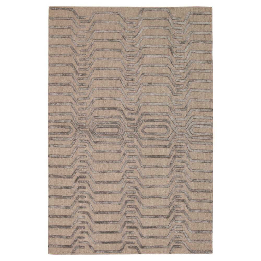 Natural Fiber Rug - Natural/Gray - (2'6x14') - Safavieh, Silver/Gray