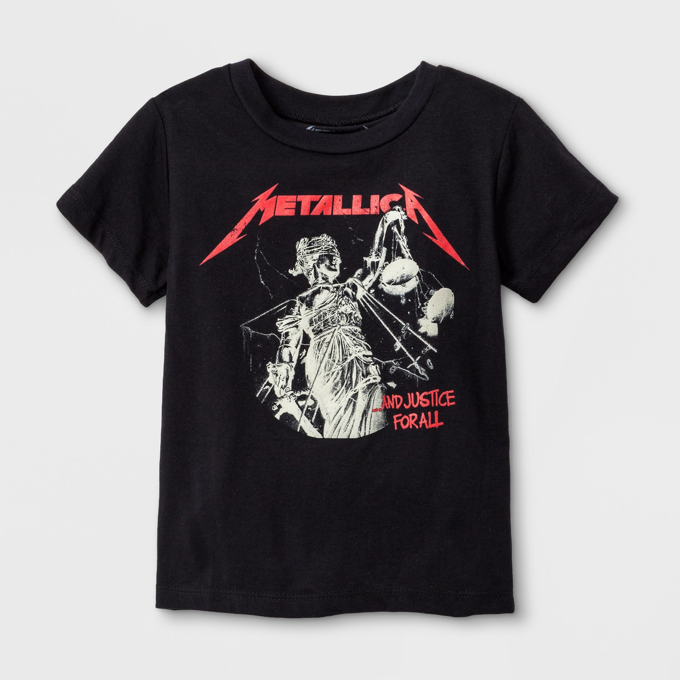 Toddler Boys' Metallica Short Sleeve T-Shirt - Black - image 1 of 1