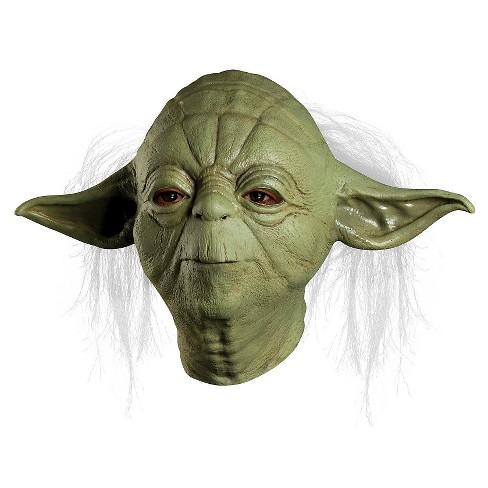 Yoda Star Wars Full Overhead Latex Rubber Masks Fancy Dresses Halloween Costume