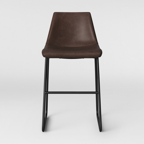 Admirable Bowden Faux Leather Counter Stool Project 62 Cjindustries Chair Design For Home Cjindustriesco