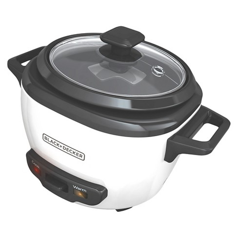 1c9988ed501 BLACK+DECKER 3 Cup Electric Rice Cooker - White RC503   Target