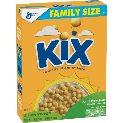 Kix Breakfast Cereal - 18-oz - General Mills