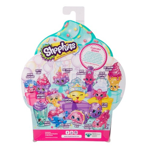 shopkins cupcake queen s sprinkle party 12 pk target