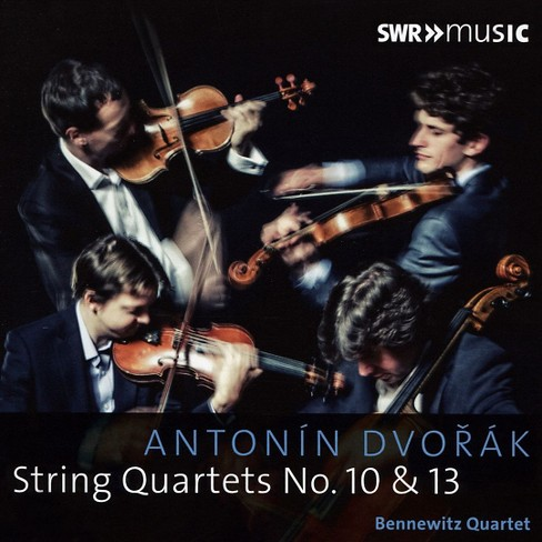 Bennewitz quartet - Dvorak:String qts nos 10 & 13 (CD) - image 1 of 1