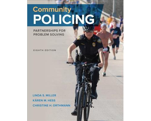 Community Policing : Partnerships for Problem Solving -  (Hardcover) - image 1 of 1