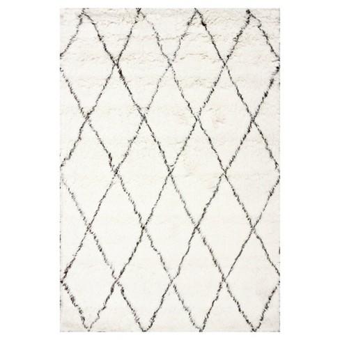 Wool Hand Made Marrakech Shag Rug - nuLOOM - image 1 of 3