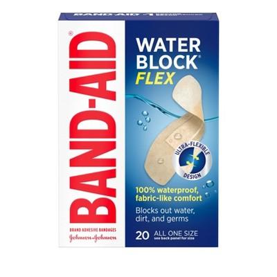 Band-Aid Water Block Adhesive Bandages - 20ct