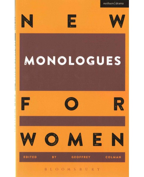 New Monologues for Women (Paperback) - image 1 of 1