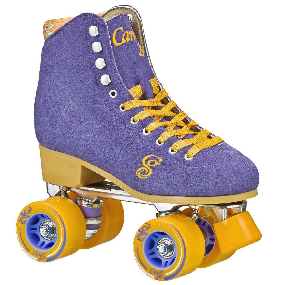 Roller Derby Candi Girl Carlin Women's Roller Skate - Periwinkle/Orange - 03, Women's, Orange Blue