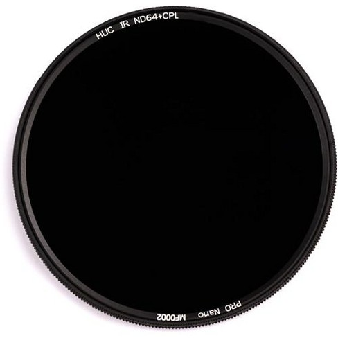 NiSi 62mm Circular Polarizer Filter with 6-Stop Solid Neutral Density 1.8 Filter - image 1 of 2