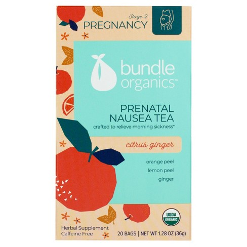 Bundle Pregnancy Tea Nausea Relief - 1.4oz - image 1 of 4
