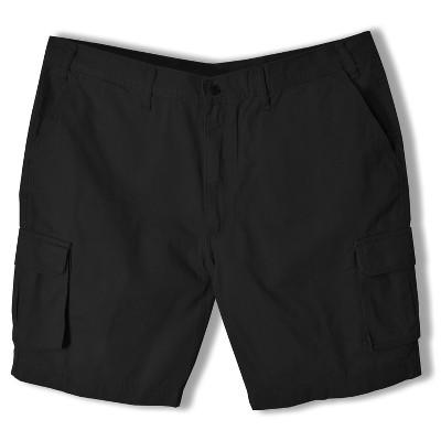 Full Blue Big Men's Expandable Waist Cargo Shorts