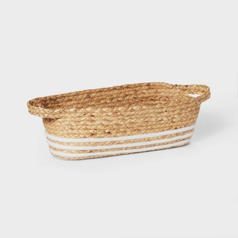 Water Hyacinth and Coiled Rope Storage Bin - Pillowfort™ - image 1 of 4