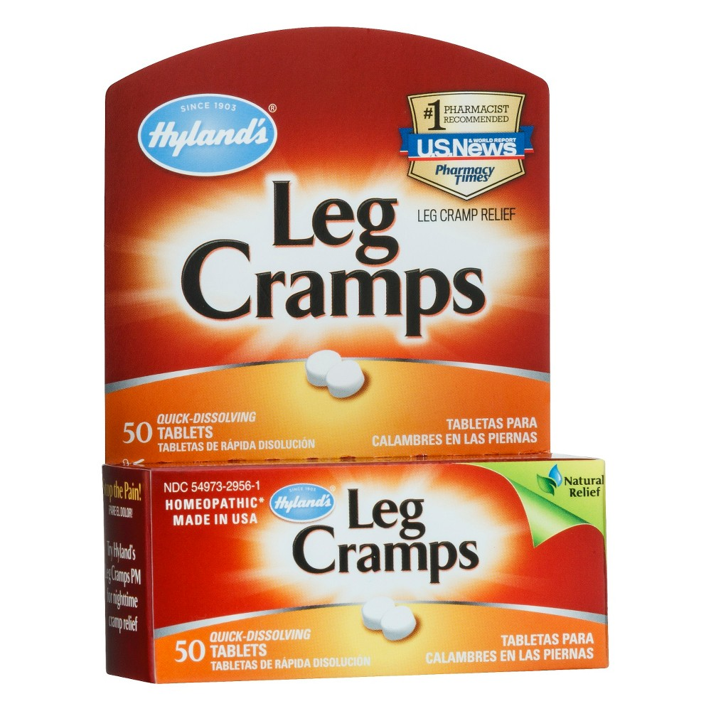 Hyland's Leg Cramps Dissolving Tablets - Homeopathic - 50ct