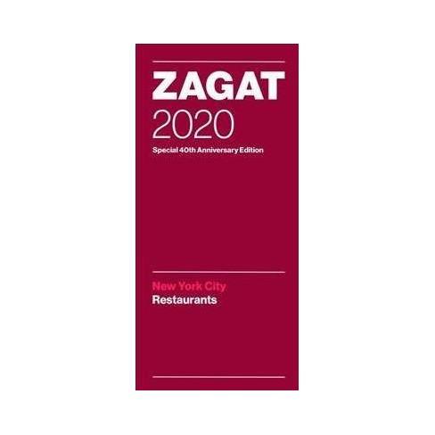 Best Restaurants In Nyc 2020 Zagat 2020 New York City Restaurants   (Paperback) : Target