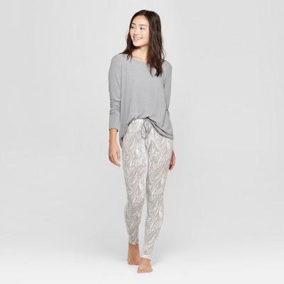 Women's Cozy Pajama Set - Xhilaration™ Gray XS
