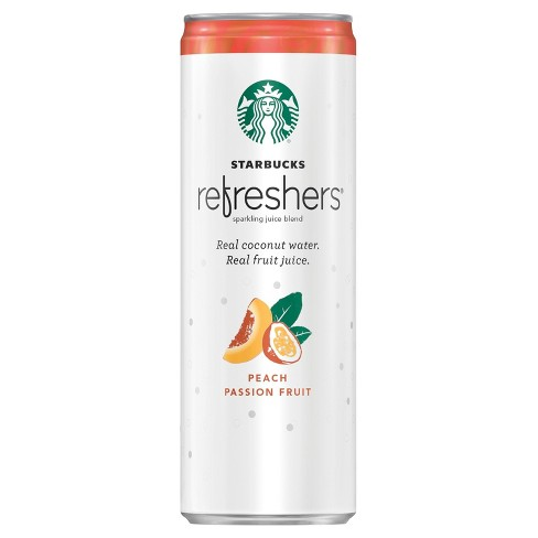 Starbucks Refreshers Peach Passion Fruit - 12 fl oz Can - image 1 of 3