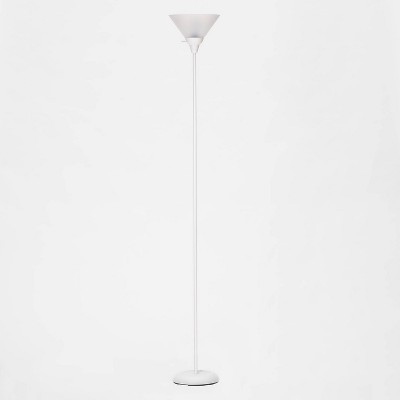 Torchiere Floor Lamp White (Includes Energy Efficient Light Bulb)- Room Essentials™