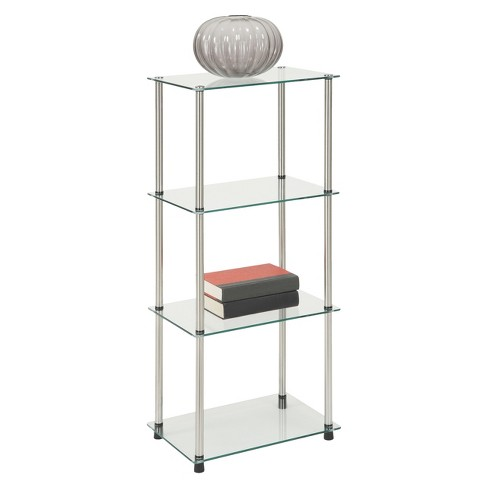39 4 Tier Glass Tower Convenience Concepts Target