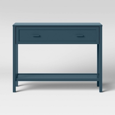 Newberry Console Table with Drawer Blue - Threshold™