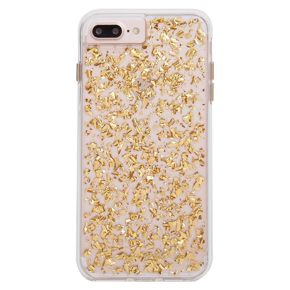 Case-Mate iPhone 8 Plus/7 Plus/6s Plus/6 Plus Case Karat - Gold, Gold Clear