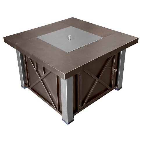 AZ Patio Heaters® Propane Fire Pit - Espresso Brown - image 1 of 2