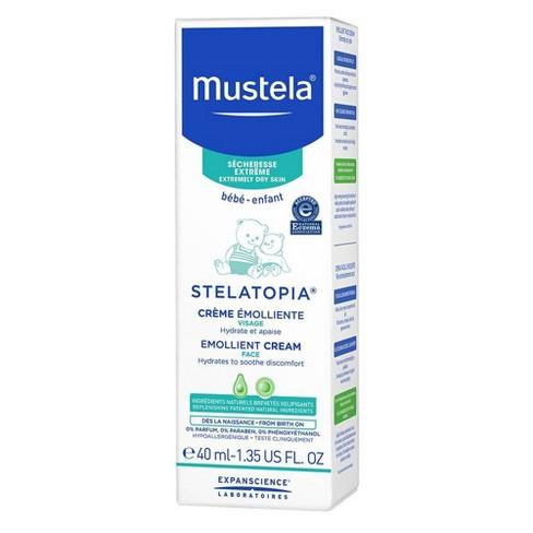 Mustela Stelatopia Emollient Baby Face Cream for Eczema Prone Skin Fragrance Free - 1.35 fl oz - image 1 of 4