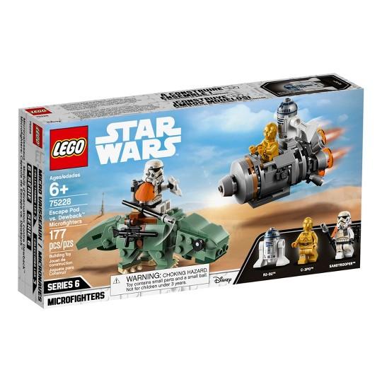 LEGO Star Wars C-3PO Escape Pod vs. Dewback Microfighters 75228 image number null