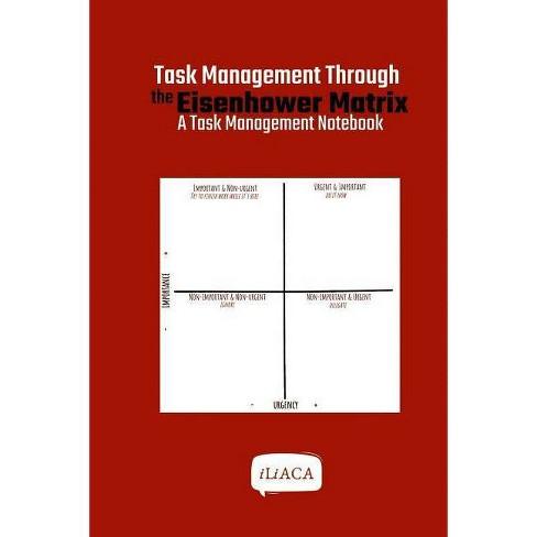 Task Management Through the Eisenhower Matrix - by  Iliaca (Paperback) - image 1 of 1