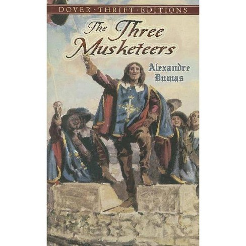 The Three Musketeers - (Dover Thrift Editions) by  Alexandre Dumas (Paperback) - image 1 of 1