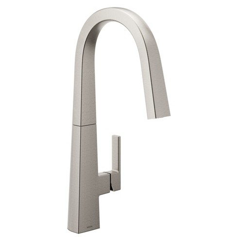 Moen S75005 Nio 1.5 GPM Deck Mounted Pull Down Kitchen Faucet - Spot Resist  Stainless