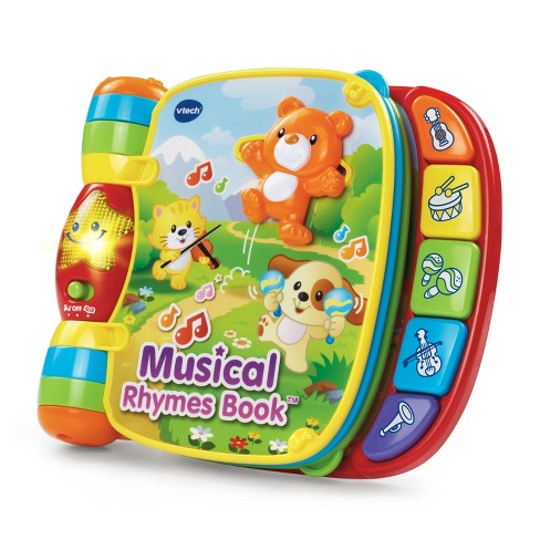 VTech Musical Rhymes Book - image 1 of 4