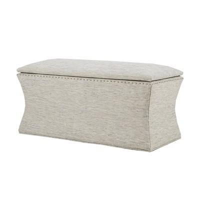 Meralda Storage Bench - Gray