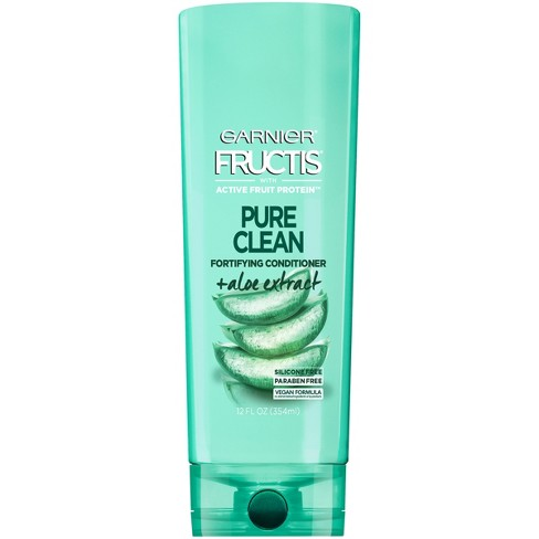 Garnier Fructis with Active Fruit Protein Pure Clean Fortifying Conditioner with Aloe Extract - 12 fl oz - image 1 of 4