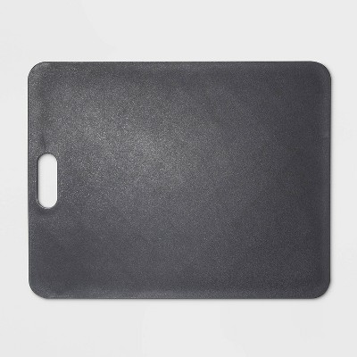 11 x14  Gripper Poly Cutting Board Gray - Made By Design™
