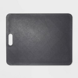 "11""x14"" Gripper Poly Cutting Board Gray - Made By Design™"