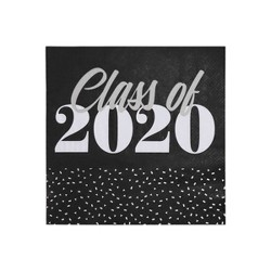 "40ct ""Class of 2020"" Foiled Lunch Napkin - Spritz™"