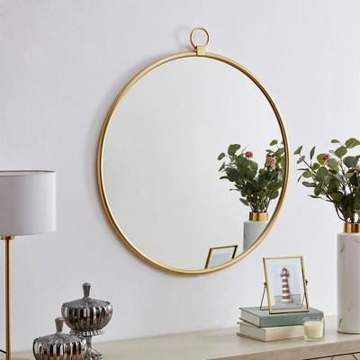 Marshall Round Mirror Gold - FirsTime